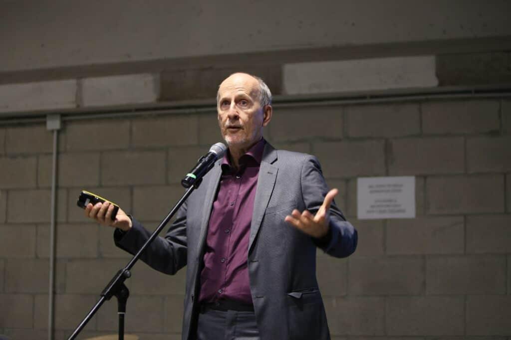 Fabrizio Bellavista al convegno All Arounf Work, al Megawatt Court di Milano, 6 ottobre